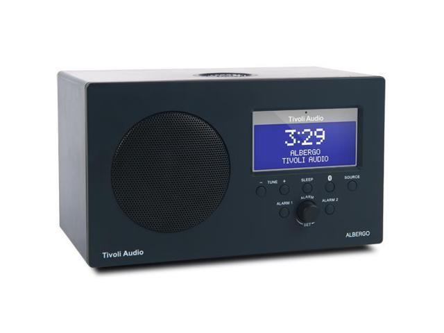 Tivoli Audio Albergo Bluetooth Clock Radio (Granite)