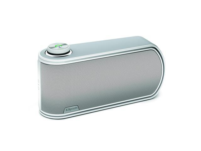 Klipsch GiG Portable Wireless Music System with aptX Bluetooth (White)