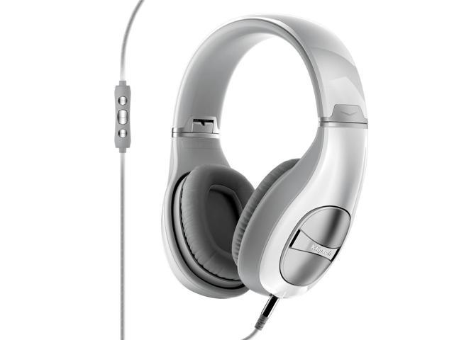 Klipsch STATUS Over-Ear Headphones with Remote + Mic (White)
