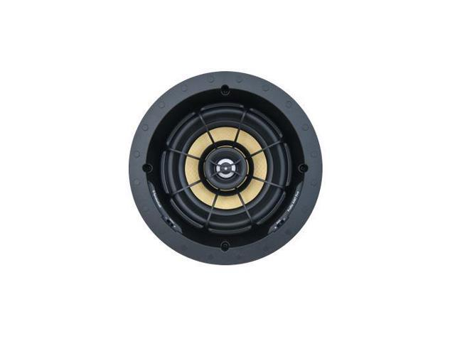 SpeakerCraft Profile AIM7 Five In-Ceiling Speaker with Aimable Woofer - Each (Black)