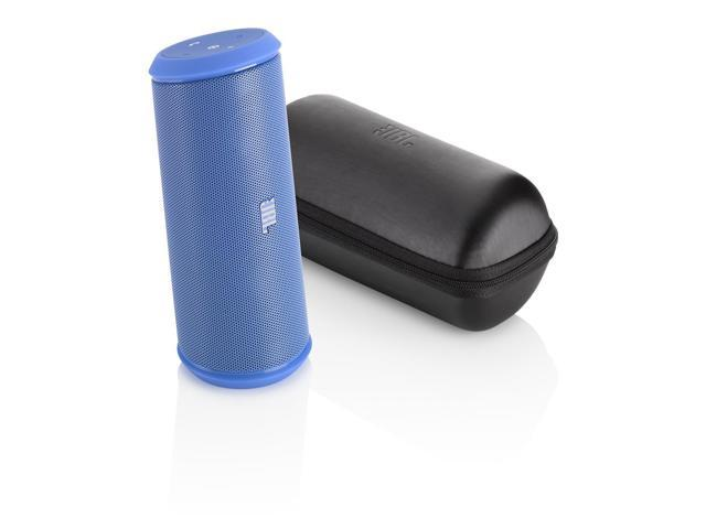 JBL Flip 2 Portable Wireless Bluetooth Speaker with Powerbank Built-In Mic (Blue)