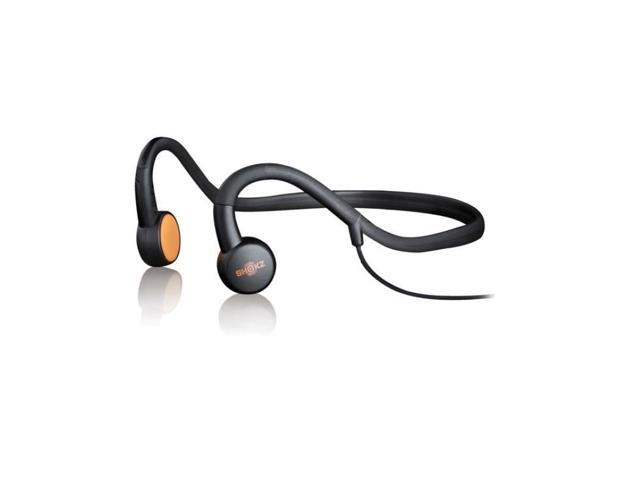 Aftershokz Sportz M3 Open Ear Stereo Headphones with In-Line Mic (Black)