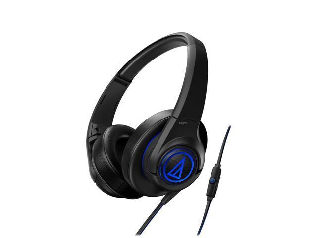 Audio-Technica ATH-AX5iS SonicFuel Over-Ear Headphones (Black)