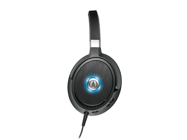 Audio-Technica ATH-ANC70 QuietPoint ActiveNoise-Cancelling Over-Ear Headphones (Black)