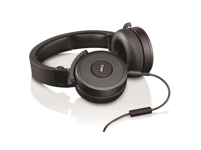AKG Y55 On Ear DJ Headphones With 1 Buttom Remote (Black)