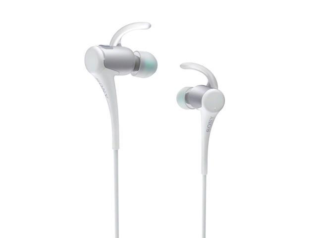 Sony Water Resistant In-Ear Headphones w/Bluetooth (White)