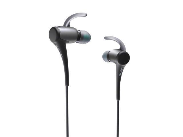 Sony Water Resistant In-Ear Headphones w/Bluetooth (Black)