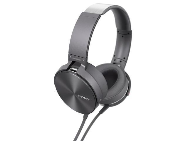 Sony Headphones with Mic/Remote + Extra Bass