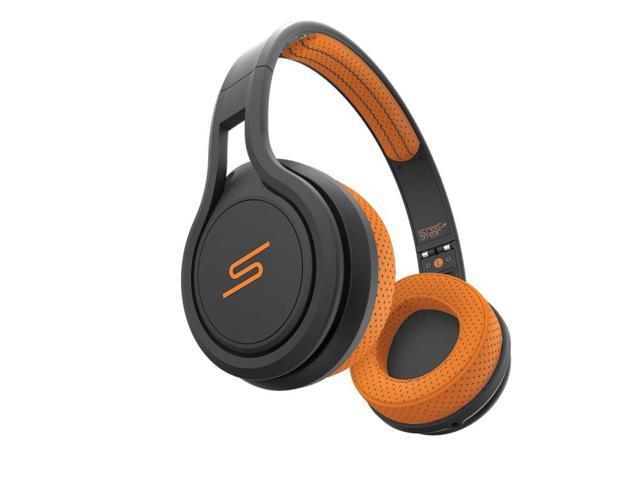 SMS Audio STREET by 50 Sport On-Ear Wired Headphones (Orange)