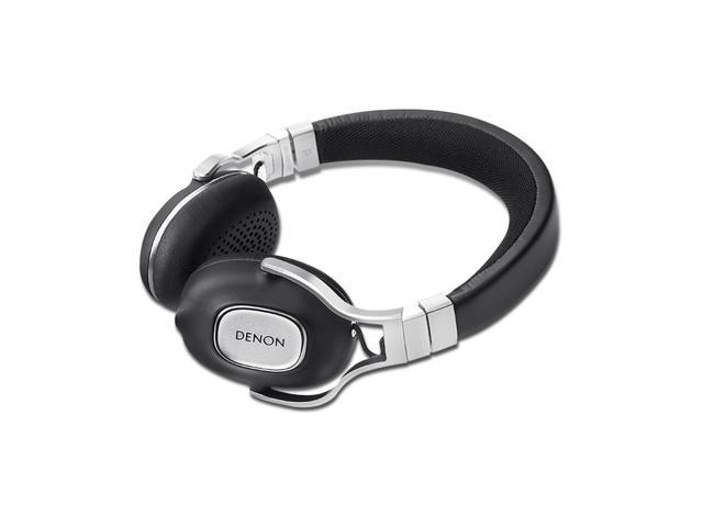 Denon AH-MM300 Music Maniac High Quality On-Ear Headphones with Apple Remote (Black)