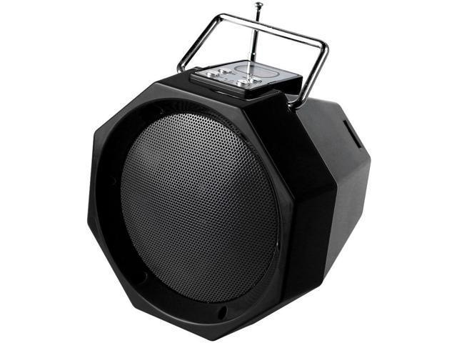 QFX BT-26 Portable Rechargeable Bluetooth Speaker (Black)