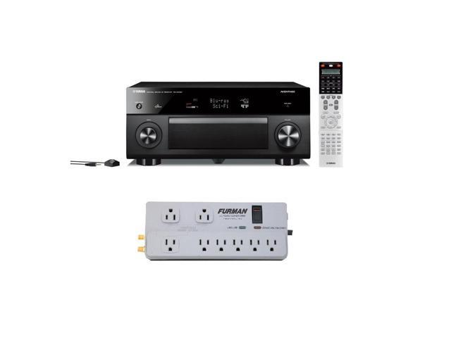 Yamaha RX-A2030 AVENTAGE Series 9-Channel AV Receiver Package with Furman Power PST-2+6 Line Conditioner
