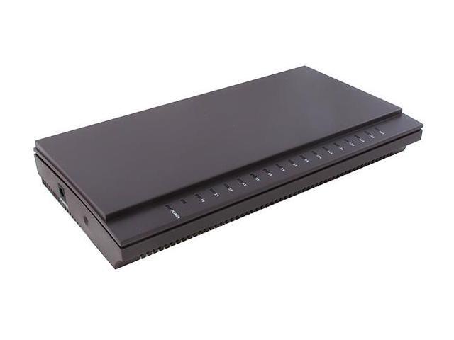 Sedna Desktop 16-Port 10/100 Ethernet Switch