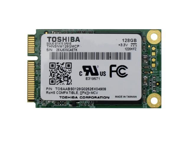 TOSHIBA SOLID STATE DRIVE SSD - THNSNW128GMCP - mSATA 128G