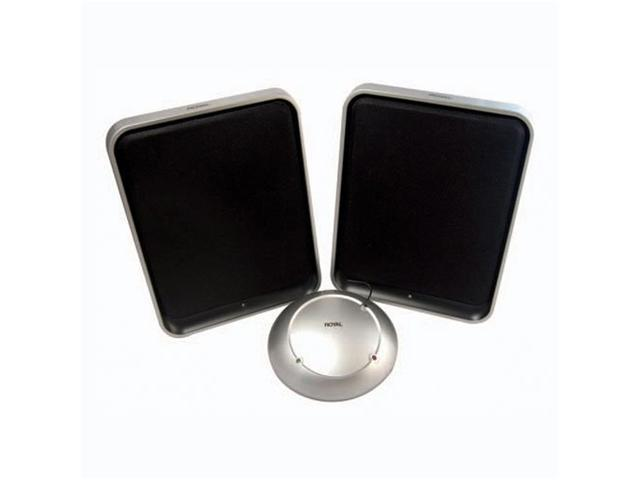 Royal WES600 900 Mhz Wireless Flat Design Stereo Speaker System