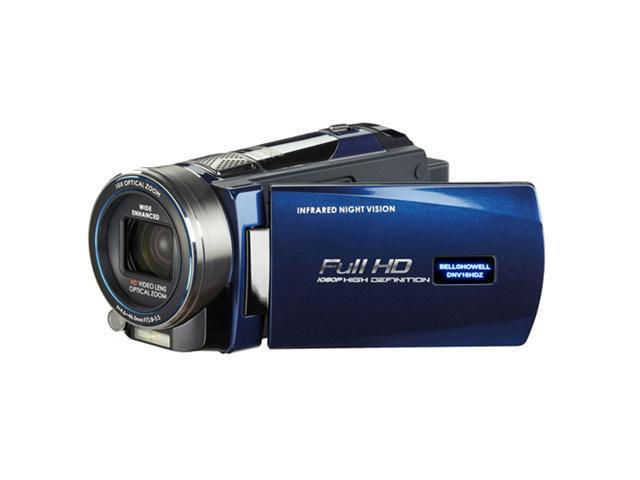 BELL+HOWELL Rogue Night Vision 1080p Camcorder (Blue)