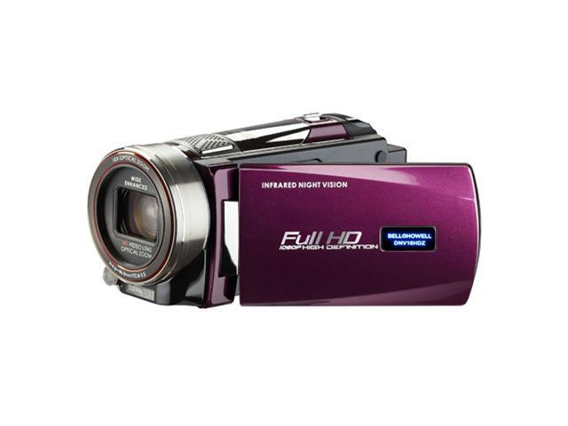 BELL+HOWELL Rogue Night Vision 1080p Camcorder (Maroon)