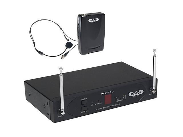 CAD Stagepass VHF Wireless Headworn