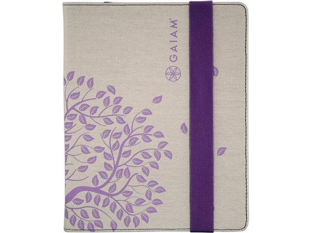 Gaiam Multi-Tilt Canvas Folio Case for Amazon Kindle Fire HD 7 - Tree of Life (Purple)