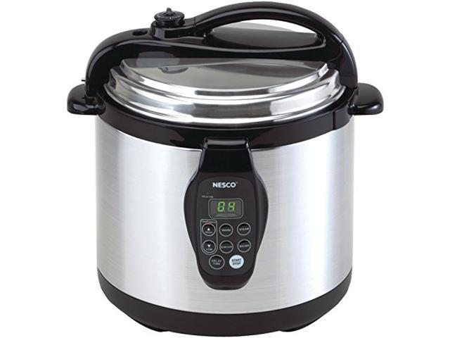 Nesco PC6-25P Electric Programmable Pressure Cooker 6-Quart (Stainless Steel)