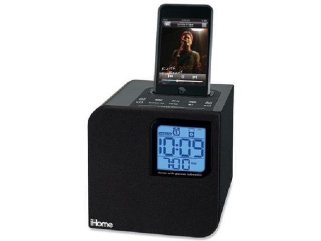 iHome iH120B Portable Speaker System (Black)