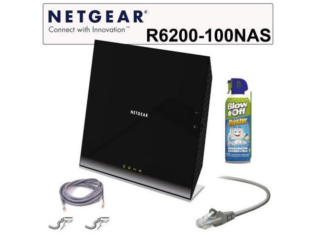 NETGEAR WiFi Router: 802.11 AC Dual Band Gigabit Router + Belkin 3-foot CAT5E Patch Cable Green + Belkin 14-foot RJ45 CAT5E Snagless Networking ...