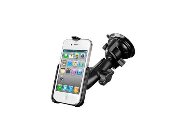 RAM Mounting Systems 44183M RAM MOUNT APPLE IPHONE 4/4S SUCTION CUP MOUNT