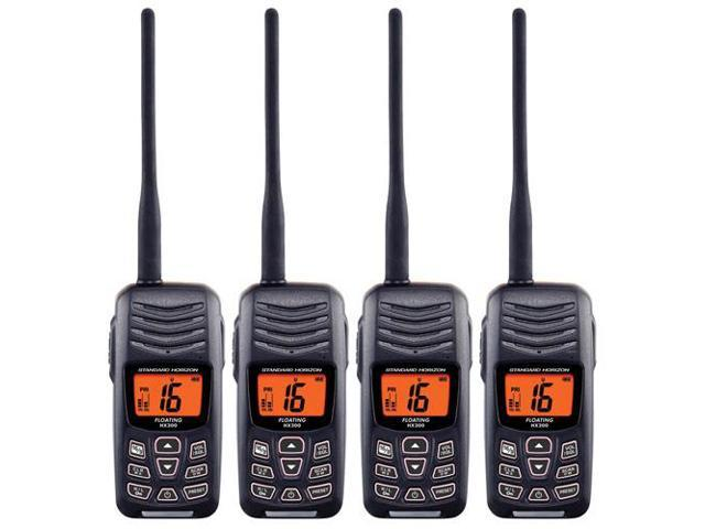 Standard Horizon HX300 (4 Pack) Floating Handheld VHF Radio