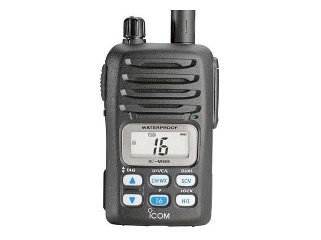 Icom M8811 M88 Instrinsically Safe (IS) Handheld VHF Radio