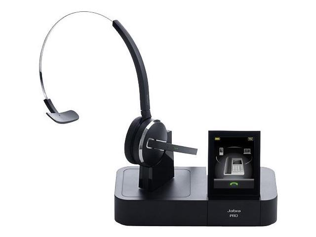 Jabra PRO9470 Mono Wireless Bluetooth Headset w/ 3 Wearing Styles