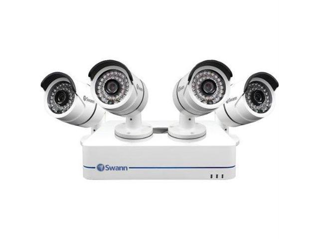 SWANN SCUSWNVK470854W NVR4-7085 4 Channel 720p Network Video Recorder & 4 x NHD-806 Cameras
