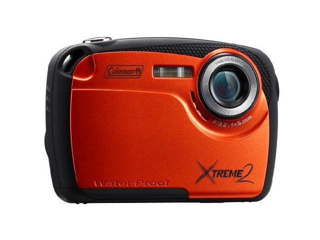 Coleman Cable ELBC12WPOO Coleman 16 MP Waterproof Digital Camera with 2.5-Inch LCD Screen