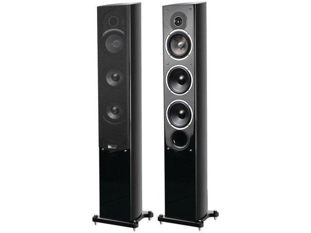 PURE ACOUSTICS PURNOBLEIIFB 5.25 Noble II Gloss Black Slim Tower Speakers
