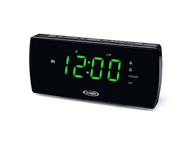 JENSEN JENJCR230B High Quality Audio Alarm Clock
