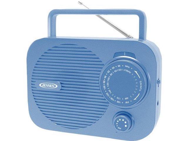JENSEN JENMR550BLB Jensen Mr-550-bl Portable AM/FM Radio
