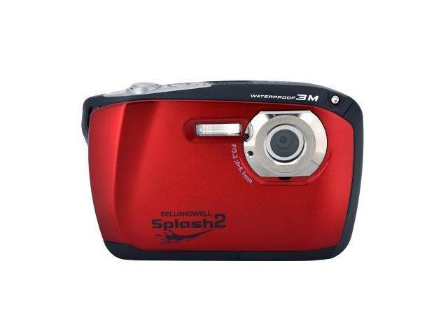 BELL & HOWELL ELBWP16RR Bell+howell Wp16-r 16.0 Megapixel Wp16 Splash2 Hd Waterproof Digital Camera