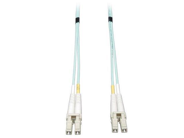 TRIPP LITE L81265M Tripp Lite 10Gb Duplex Multimode 50/125 OM3 LSZH Fiber Patch Cable LC/LC - Aqua, 2M 6-ft. N820-02M