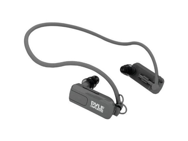 Pyle Audio PYRPSWP4BKG Pyle 4gb Waterproof Neckband Mp3 Player and Headphones