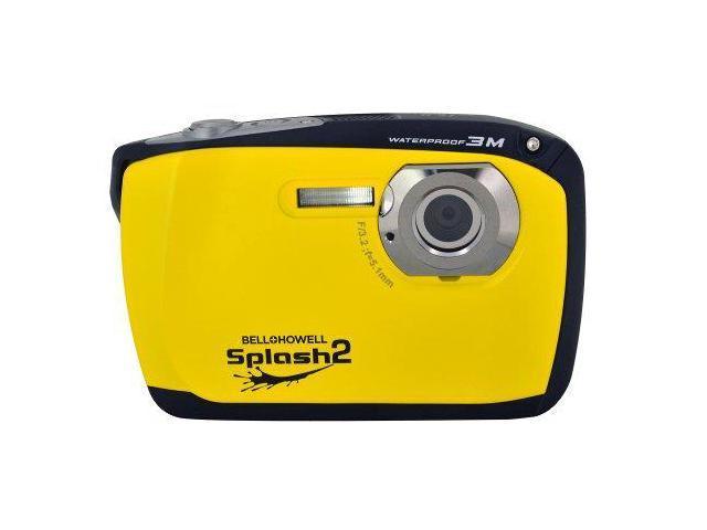 BELL & HOWELL ELBWP16YY 16.0 Megapixel WP16 Splash2 HD Waterproof Digital Camera