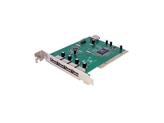 StarTech BH4684g StarTech PCIUSB7 7 Port PCI USB Card Adapter Retail