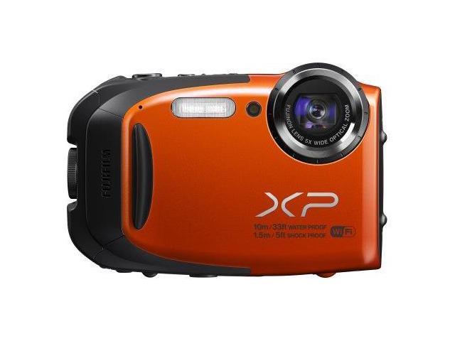 Fuji FDC16409662O Fujifilm XP70 16 MP Digital Camera with 2.7-Inch LCD (Orange)