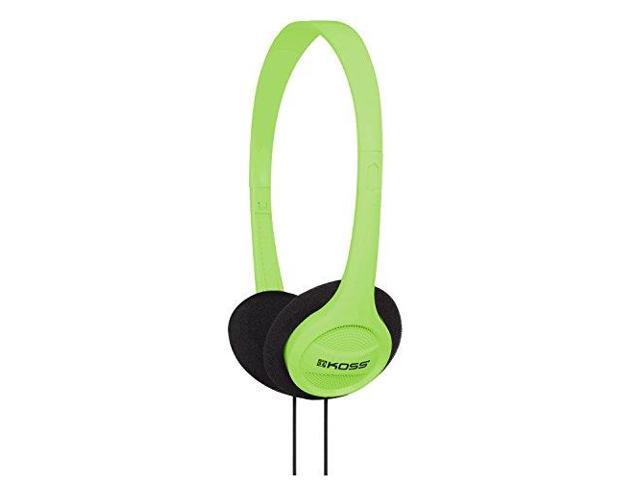 KOSS KSSKPH7GG Koss KPH7G Portable On-Ear Headphone with Adjustable Headband - Green