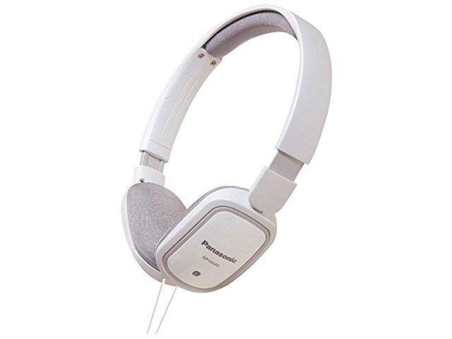 PANASONIC PANRPHXC40WW SLIMZ On-Ear Headphones with iPad/iPhone/iPod Controller