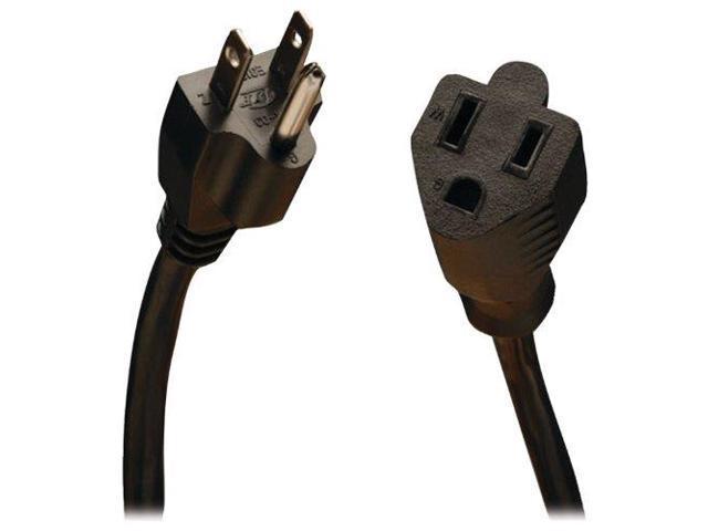 tripp lite LH7348B Tripp Lite Standard Power Extension Cord 10A, 18AWG (NEMA 5-15P to NEMA 5-15R) 25-ft.(P022-025)
