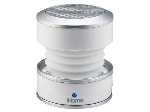 iHome IHMIM59WCW iHome Rechargeable Color-Changing Mini Speaker