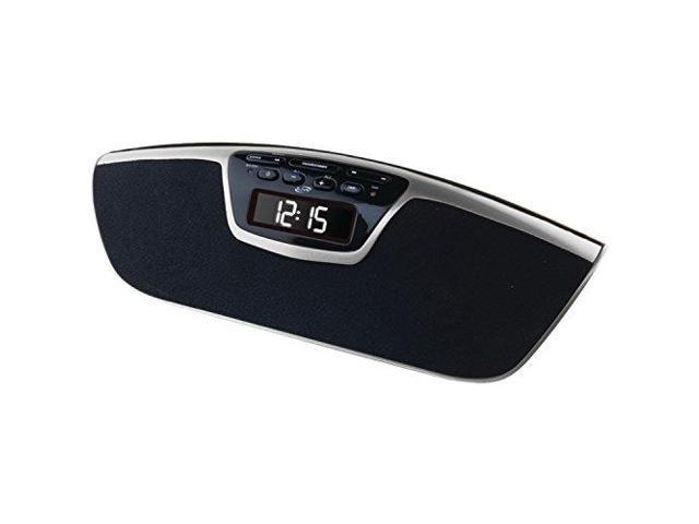 iLive GPXICB213SB Bluetooth Dual Alarm Clock Radio With Speakerphone