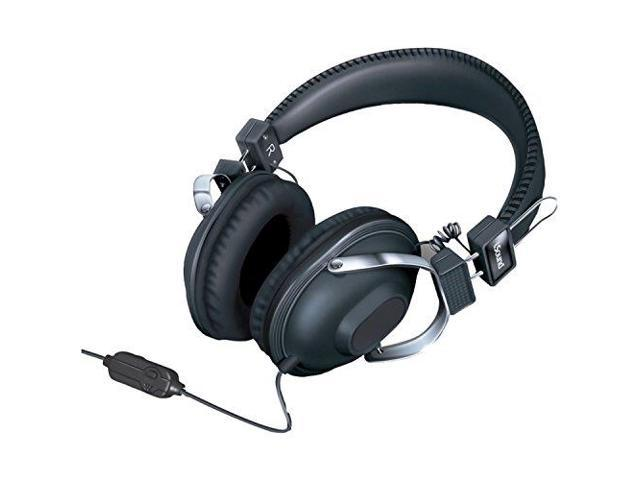 iSound DRM5521B HM260 Dynamic Stereo Headphones with in-line Mic and Volume controls