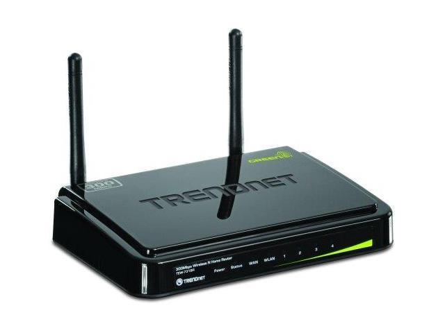 trendnet TEW731BRB TRENDnet Wireless N 300 Mbps Home Router, TEW-731BR