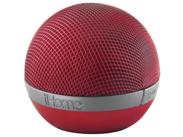 iHome IHMIDM8RCR Portable Rechargeable Bluetooth Speaker