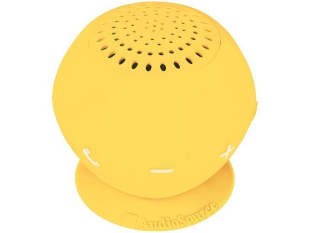 AudioSource AOSSP2YELY Sound pOp 2 Water-Resistant Bluetooth Speaker